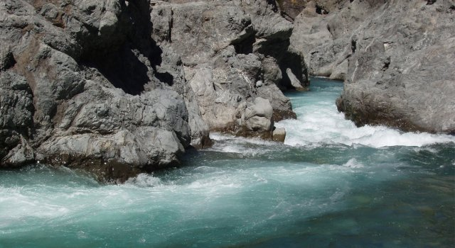 The Narrows - Waiau River