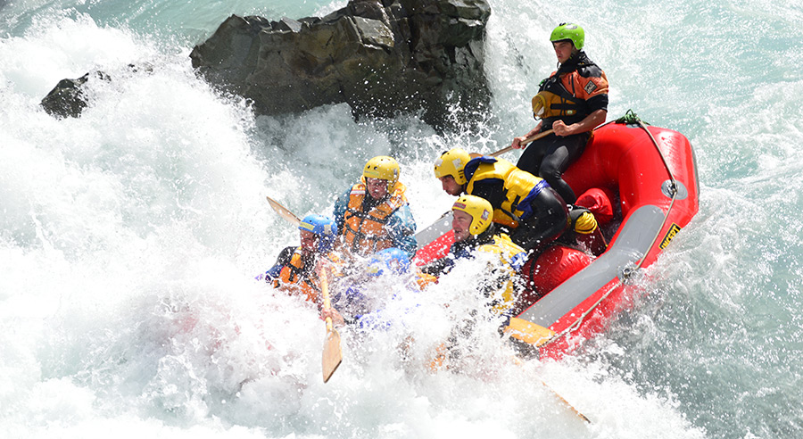 Rangitata River Rafting